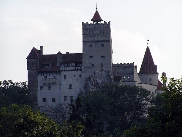 Bran Castle in Romania home to Dracula
