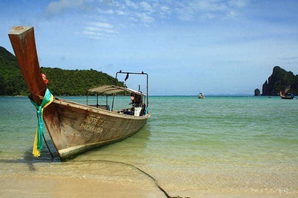 Ko Phi Phi boat Thailand