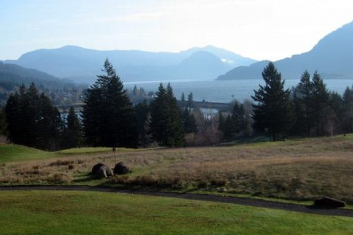 Overlooking the Columbia Gorge