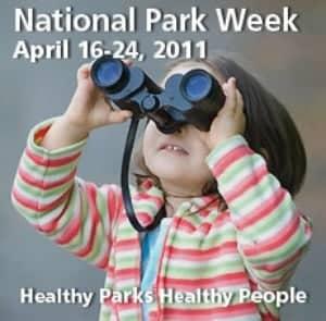 national park week poster
