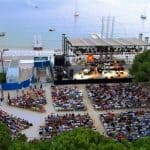 Jazz à Juan, vu du ciel, French Riviera jazz