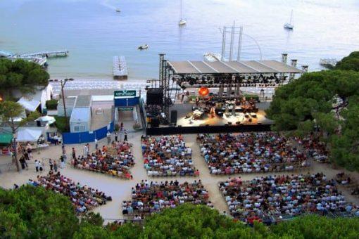 Jazz à Juan, vu du ciel, French Riviera jazz