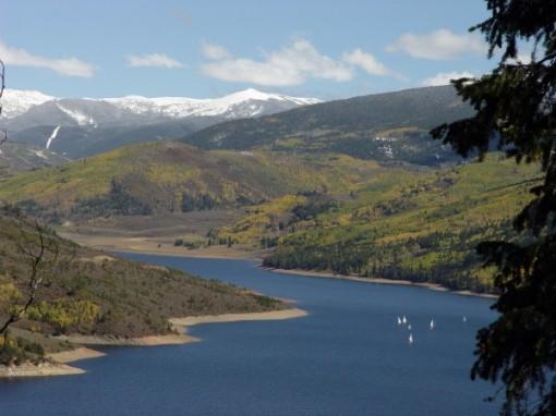 Ruedi reservoir colorado
