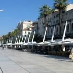 Split Riva Promenade Croatia