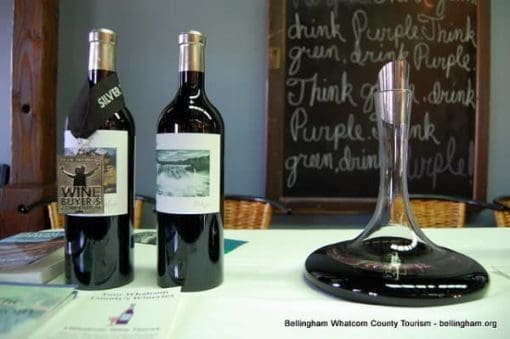 Glacial Lake wine on whatcom county wine trail