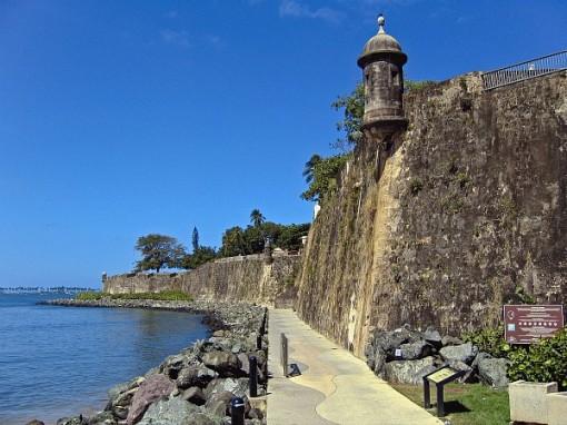 San Juan. Paseo de la Princesa. Puerto Rico