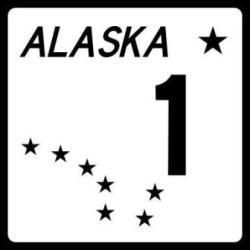Alaska highway signs to help plan an Alaska road trip.