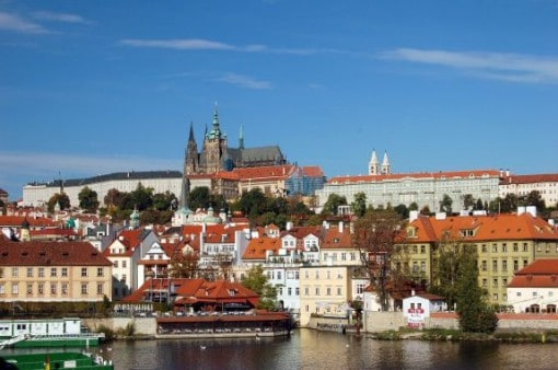 Prague Castle in Czech Republic