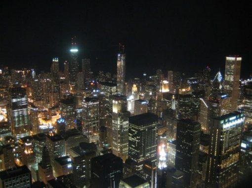 Chicago Skyline @ Night