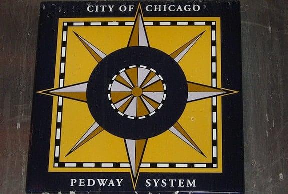 Chicago Pedway Symbol