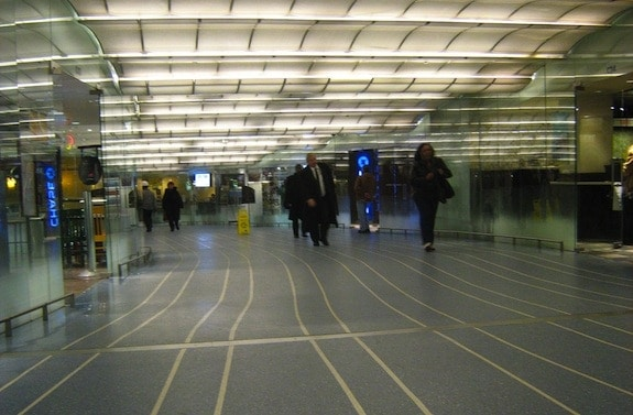 Metra Millenium Station Pedway