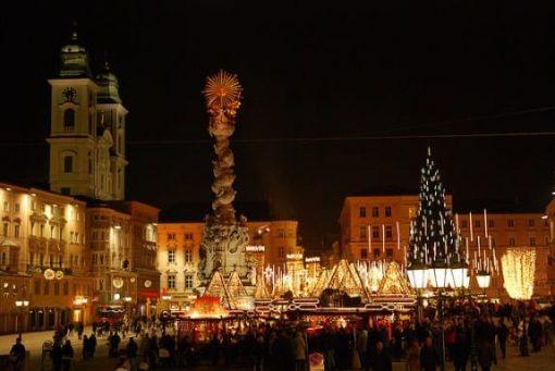 Christmas Market, Linz, Austria