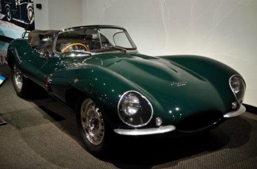 Jaguar supercar at Petersens Automotive Museum, Los Angeles