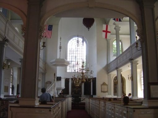 inside old north church boston