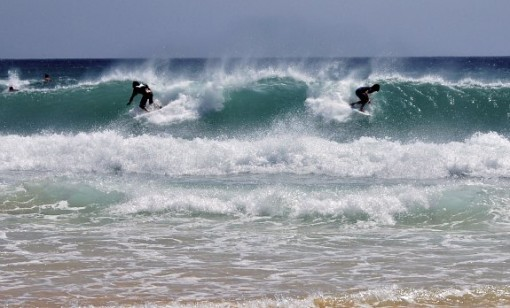Fuerteventura surfing, Canary Islands