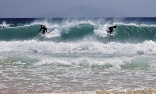 Fuerteventura surfing, Canary Islands