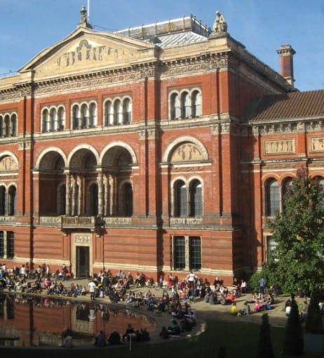 Victoria and Albert courtyard