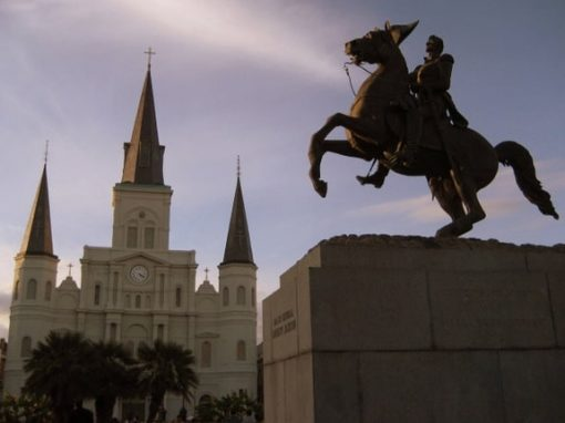 Jackson Square in New Orleans (photo by Tui Snider)