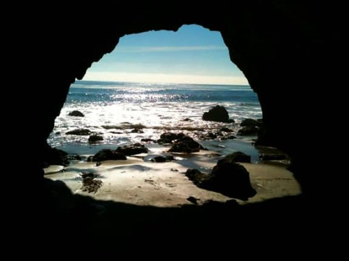 sea cave matador beach 510x382 28 weeks pregnant with twins