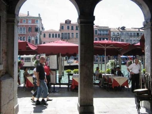 Venice restaurant. (photo by Tui Snider)