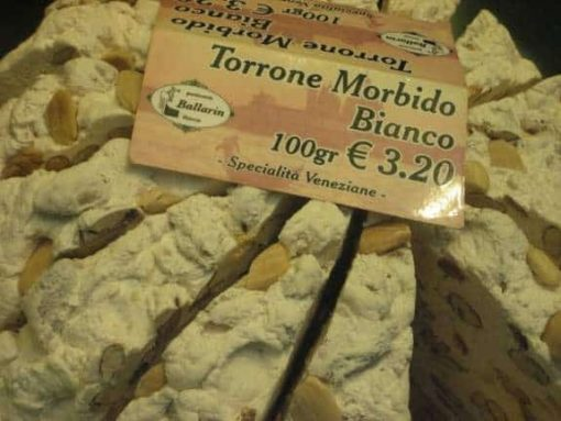 Venice torrone candy. (photo by Tui Snider)