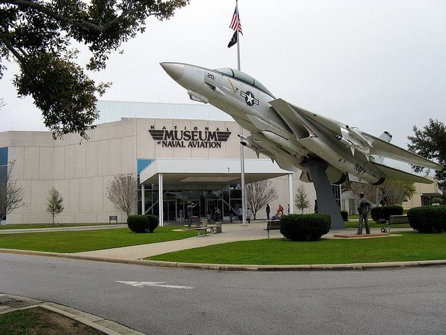 Flying High At National Museum Of Naval Aviation In