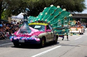 Art Car Parade, Houston Texas
