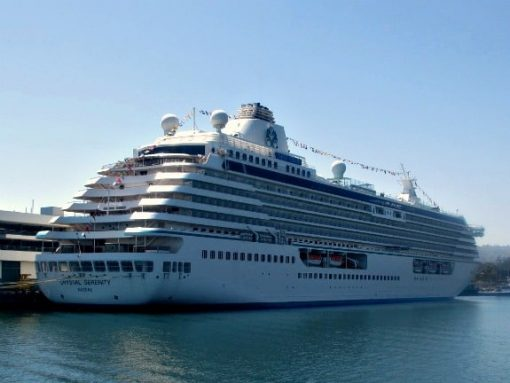 Crystal Serenity in LA