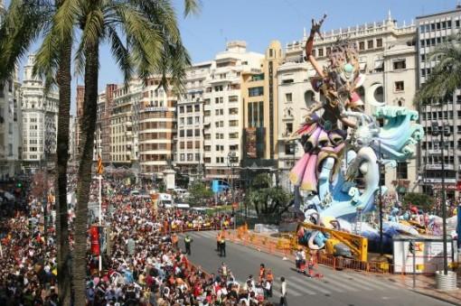 Las Fallas - Courtesy of Valencia Tourism Board