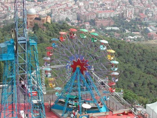 Ferris Wheel on Mount Tibidabo