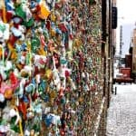 Seattle Gum Wall:  An Unsanitary Attraction