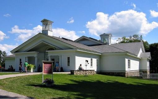 Normal Rockwell museum in Stockridge Massachusetts