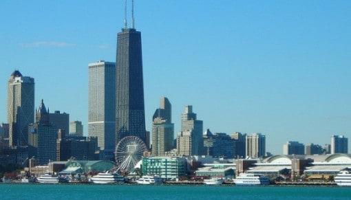 Chicago Skyline, Navy Pier