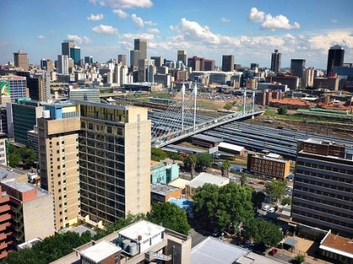 Johannesburg skyline, South Africa
