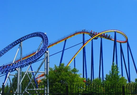 Millennium Force at Cedar Point Ohio