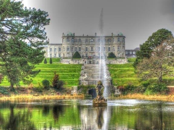 Powerscourt Gardens in Dublin Ireland