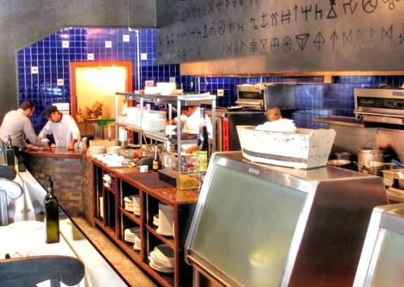 Volos restaurant Toronto kitchen