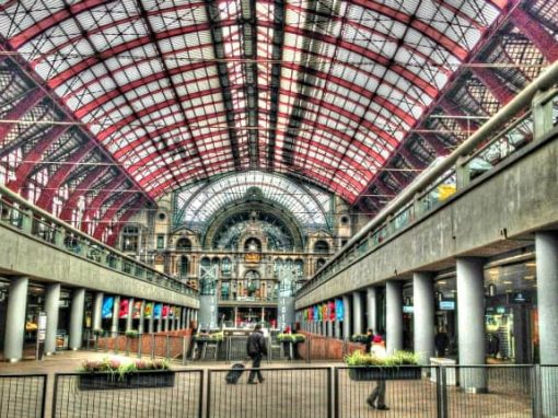 Central Station, Antwerp Belgium