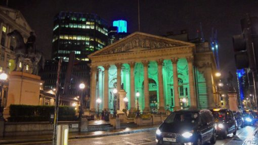 Royal Exchange, Cornhill, England