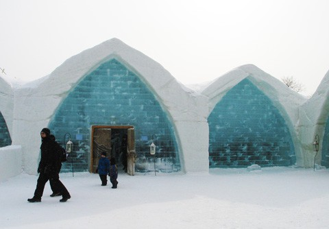 Qu Bec 39 S Ice Hotel An Ephemeral Work Of Art The