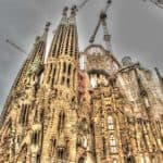 Photo Friday:  La Sagrada Familia in Barcelona, Spain