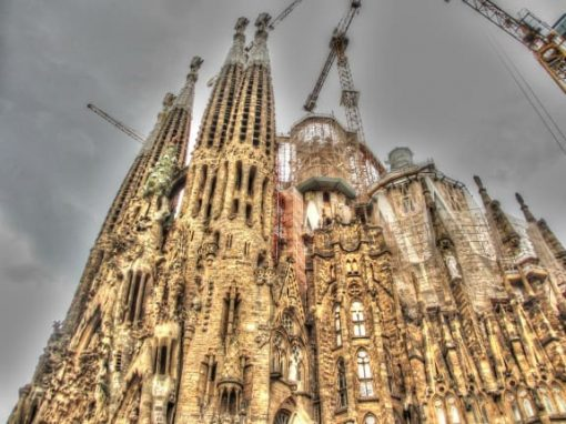 Cathedral Sagrada Familia, Barcelona, Spain