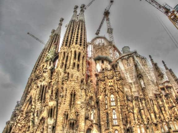 Cathedral Sagrada Familia, Barcelona, Spain