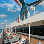 Deck on the Carnival Conquest