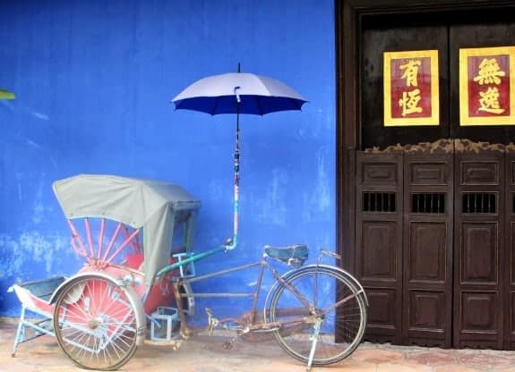 Photo Friday The Blue Mansion Penang Malaysia The