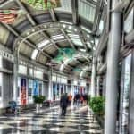 Photo Friday:  Millennium Chandeliers at Chicago O'Hare Airport