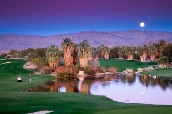 Golfing in greater Palm Springs