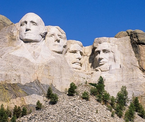 mt rushmore photo