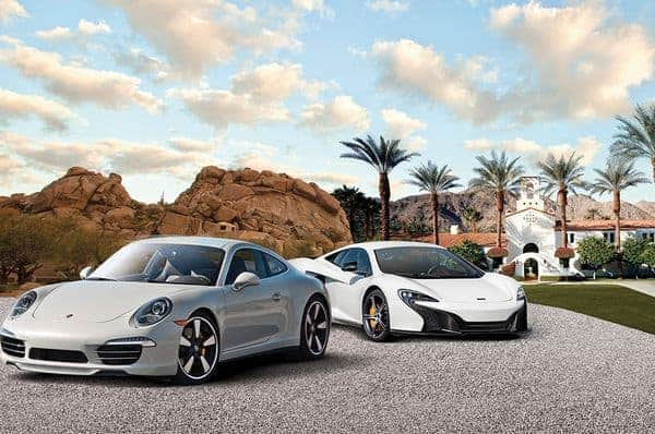 Under the instruction from professional drivers, experience the thrill of driving a supercar as part of #WaldorfExperiences
