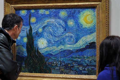 the starry night photo